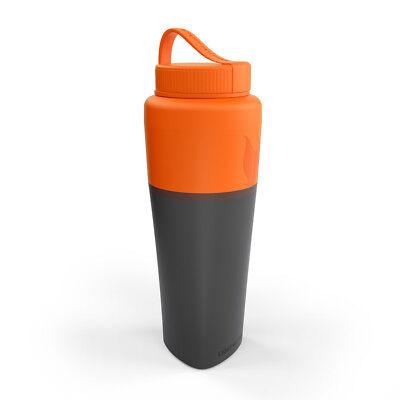 -up-Bottle Becher Faltbecher Flasche Falttasse Outdoor (Light Up Becher)