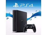 PS4 500gb slimline still in packaging,1 controller,Call of duty {infinite warfare} £200 ovno