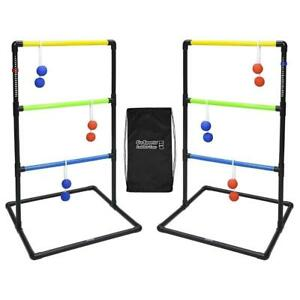 NEW GoSports Standard Ladder Toss Game Set Includes-6 Rubber Bolos and Carrying Case