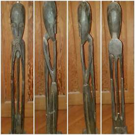 Lovely wooden african carved statues