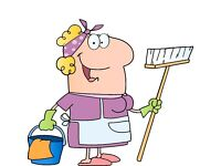 Home help available - cleaning, dog walking, shopping, ironing, end of tenancy cleans & hol lets