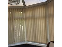 Vertical Window Blinds in Cream. Good Condition. East Didsbury/Cheadle area
