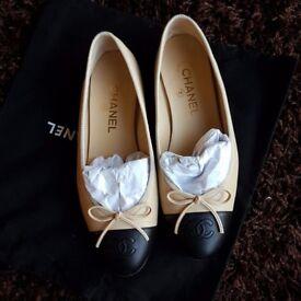 Chanel ballet pumps flats shoes size39 UK5.5