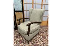 Vintage Fireside Armchair