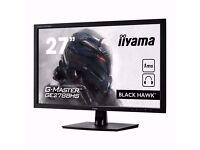 iiyama G-MASTER Black Hawk GE2788HS-B1 Monitor 27 inch, TN Panel, 1920x1080, 1ms