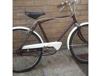 "Vintage Boys Bike - BSA Eagle 14"" frame - 18"" wheels"