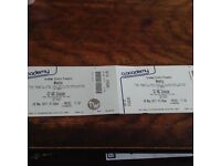 2x Wheatus tickets Glasgow May 8th