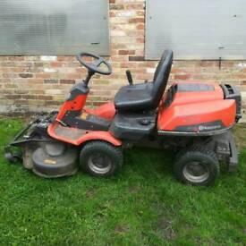 Husvarna r15t sit on lawnmower
