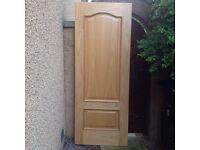 "Light Oak ""Louis"" Internal Door"
