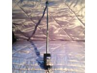 Grinder holder flexi shaft with stand clamp for multi tool -new