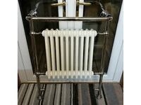 Heritage Bathrooms Clifton Heated Towel Rail - Chrome