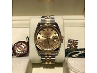 Gents Rolex Datejust Stainless steel & 18k yellow gold automatic watch 116233
