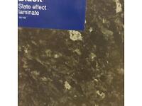 Black slate | granite effect kitchen work top New unused