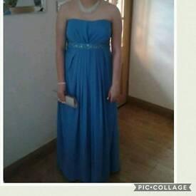 Beautiful Blue formal/bridesmaid dress, size 14 - 16