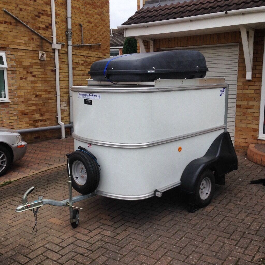 Camping Trailer Ifor Williams Bv64e Trailer With Roof