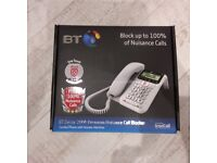 BT Decor 2600 Premium Nuisance Call Blocker corded phone with answer m