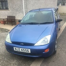 2000 Ford Focus. £500 or nearest offer.