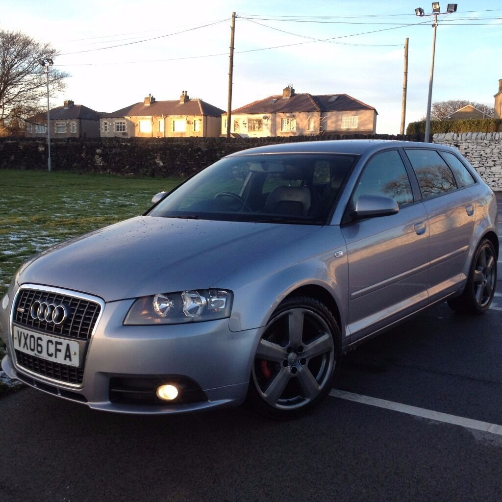 2006 audi a3 2 0 tdi s line quattro 5dr sportback diesel. Black Bedroom Furniture Sets. Home Design Ideas
