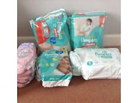 Pampers Nappies Size 5 - Pull on Pants and Nappies