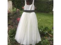 Child bridesmade dress 7/8yr