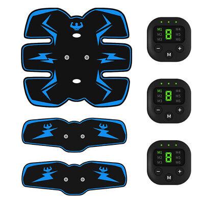 Elektrischer Bauchmuskeltrainer USB Wiederaufladbar Muskelstimulator Gürtel