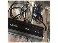 Used Like New 600W Digital Dimmable Grow Light Kits Hydroponics Omega Maxibright Lumii