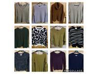 Ladies jumpers -£5 each