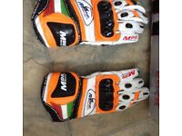 TCX race boots and race gloves