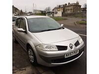 57 renault megane 1.4 expression 5 door hatchback/12 months mot/warranty