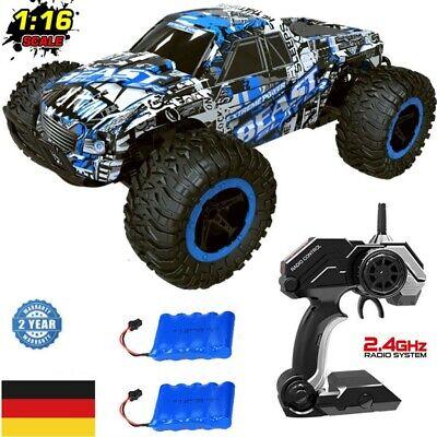 1:16 Offroad Ferngesteuertes Auto RC Monster Truck Rennauto Spielzeug 2.4G Buggy