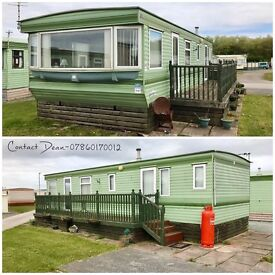 STATIC CARAVAN FOR SALE OCEAN EDGE NORTH WEST SEA VIEWS NEAR LAKES HEYSHAM PET FRIENDLY