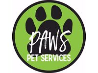 Paws Pet Services - Edinburgh Dog Walking & Pet Sitting