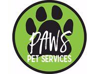Paws Pet Services - Edinburgh Dog Walking & Pet Sitting