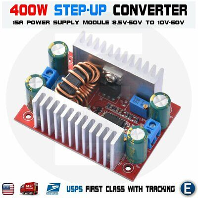400w Dc-dc Step Up Boost Buck Voltage Converter Power Supply Module 15a