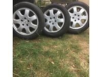 3 CLK Rims And Tires 205/55R16