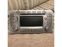 Ford Focus sat nav head unit