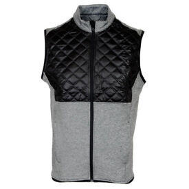 ADIDAS CLIMAHEAT QUILTED MENS THERMAL GOLF VEST GILET Size XL