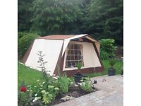 Cabanon Canvas Frame Tent 5 Berth, used.