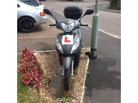2 year old – very well looked after scooter. 2894 miles. Engine capacity: 108cc. Price is £1200