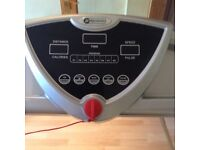 Treadmill in excellent working order. Folds for easy storage. Manufactured by dynamix