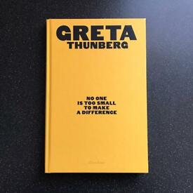 No One Is Too Small to Make a Difference is a book by Greta Thunberg
