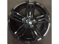 533 Audi SEAT Skoda 5x112 new alloy wheels 5x112 gloss black talladega