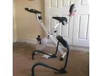 Exercise bike and tummy toner