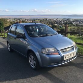 Chevrolet KALOS 1.2cc Hatchback in blue Only 6900 Long MOT Low Insuance