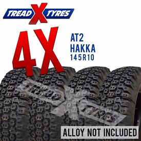 4 x New 145R10 Hakka AT2 Tyre - 145 10 - Fitting Available