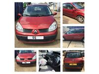 Renault Scenic Rush 1.4 2005 Flame Red TEB76 Manual Petrol (Front Bumper) All Parts Available