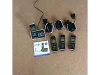 BT 6500 digital cordless phones with answering machine
