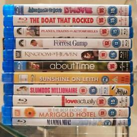 DVD COLLECTION chick flicks blu-ray