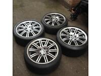 Bmw e46 m3 alloys/tyres