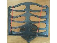 Cast iron Book Stand / plate stand